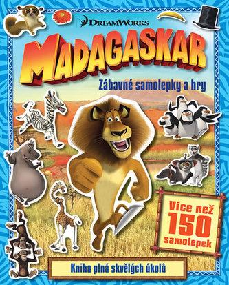 Madagaskar - Zábavné samolepky a hry