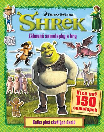 Shrek - Zábavné samolepky a hry