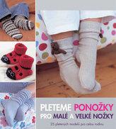 Pleteme ponožky pro malé a velké nožky