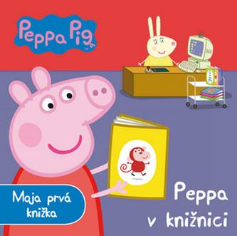 Peppa Piq Peppa v knižnici