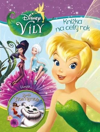 Víly - Knížka na celý rok 2016 - Disney Walt