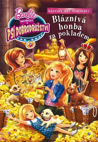 Barbie Sestřičky a psí dobrodružství - Bláznivá cesta za pokladem - Zábavný sešit