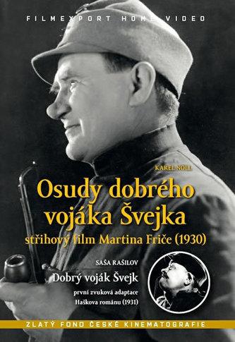 Osudy dobrého vojáka Švejka + Dobrý voják Švejk - DVD box - neuveden