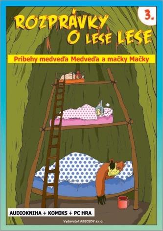 Rozprávky o lese Lese - 3. časť (CD + Komiks) - Gürtlerová Anna Grác