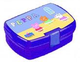 Prasátko Peppa - Fialový svačinový box