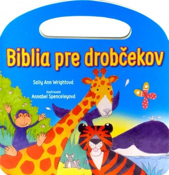Biblia pre drobčekov - modrá (s uškom)