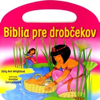Biblia pre drobčekov - ružová (s uškom)