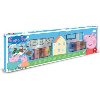 Razítka Peppa pig, felt-tip pens box