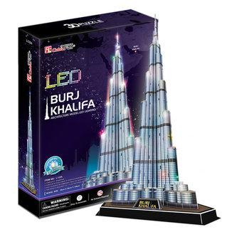 Puzzle 3D Burj Khalifa / led - 136 dílků