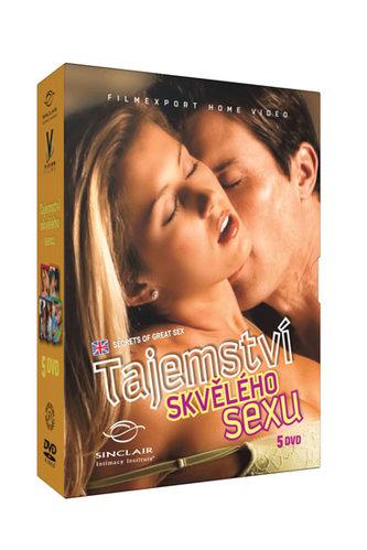 Tajemství skvělého sexu - 5 DVD - neuveden