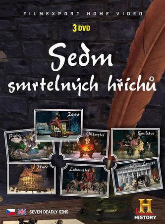 Sedm smrtelných hříchů - 3 DVD