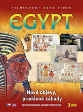 Egypt: Nové objevy, pradávné záhady - 3 DVD