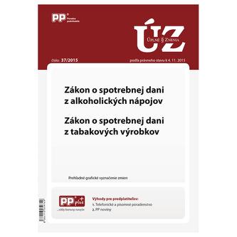 Úplne znenia zákonov 37/2015