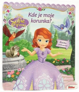 Sofie První - Kde je moje korunka? - Leporelo s okénky