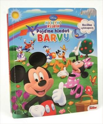 Mickeyho klubík - Pojďme hledat barvy - Leporelo s okénky