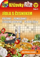 Křížovky s recepty 11 - Jídla s česnekem