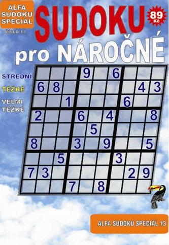 Sudoku speciál 13 pro nároční