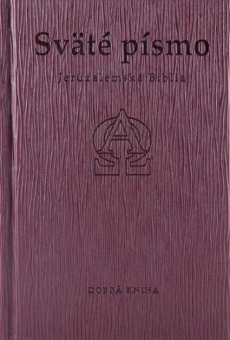 Sväté písmo - Jeruzalemská Biblia (hnedá obálka s reliéfom)