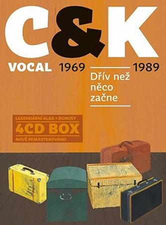 Dřív než něco začne - 4 CD - C&K VOCAL