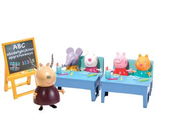PEPPA PIG - školní třída + 5 figurek