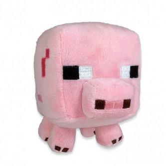 Figurka Minecraft - Prase plyš 15 cm