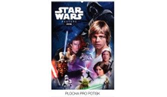 Kalendář nástěnný 2016 - Star Wars Classic - Posters,  33 x 46 cm - prodloužená verze