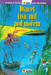 Dvacet tisíc mil pod mořem - Světová četba pro školáky