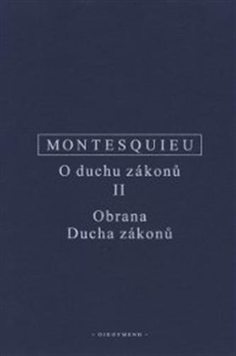 O duchu zákonů II. - Charles Montesquieu