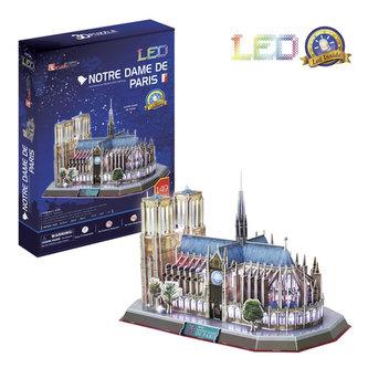 Puzzle 3D Notre Dame de Paris / led -