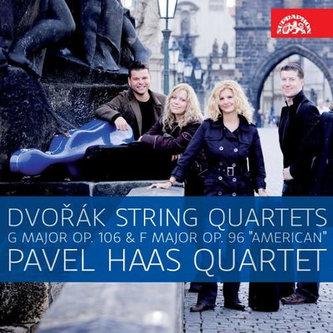 Smyčcové kvartety Americký, op. 96 a op. 106  - CD