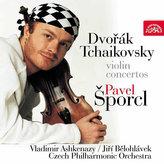 CD Pavel Šporcl - Dvořák, Čajkovský houslové koncerty