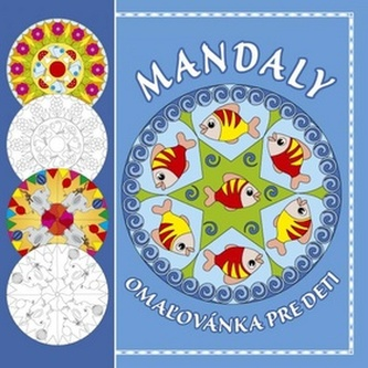 Mandaly - omaľovánka pre deti