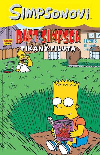 Simpsonovi - Bart Simpson 11/2015 - Fikaný filuta - Matt Groening