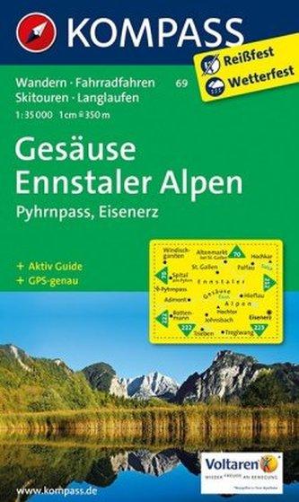 Gesäuse - Ennstaler Alpen - Pyhrn  69   NKOM