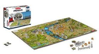 4D City Puzzle Praha