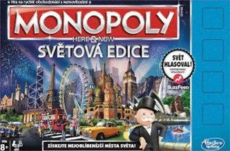 Monopoly - Tady a teď světová edice CZ B2348