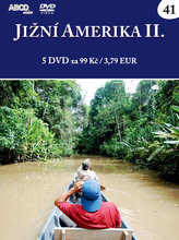 Jižní Amerika II - 5 DVD