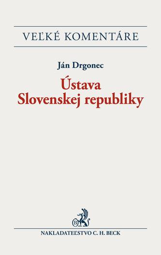 Ústava Slovenskej republiky - Drgonec, Ján