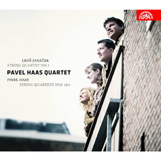Janáček : Smyčcový kvartet č.1 / Haas - CD