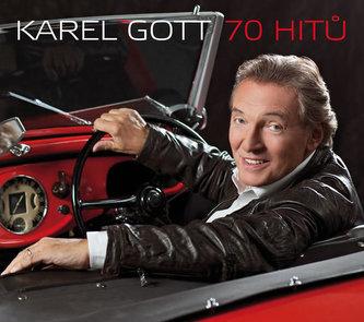 Karel Gott 70 hitů 3CD