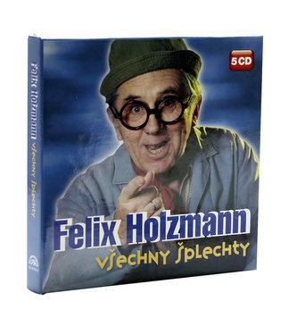 Felix Holzmann - Všechny šplechty ( Komplet 5 CD )