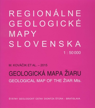 Geologická mapa Žiaru 1:50 000