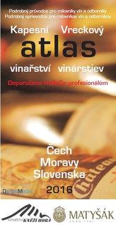 Kapesní atlas vinařství Čech Moravy Slovenska 2016