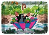 Dekorační tácek s motivy Krtka - Deštník