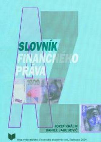 Slovník finančného práva