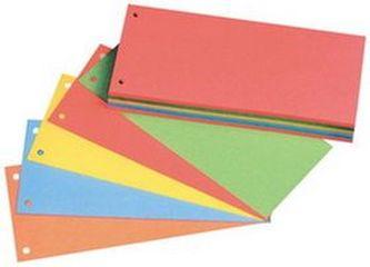 Kartonové rozlišovače 5 barev 100ks