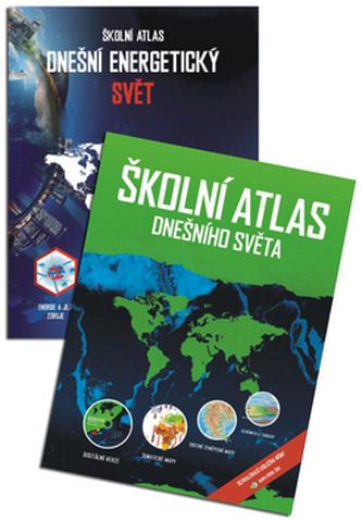 Komplet Školní atlas dnešního světa + Školní atlas Dnešní energetický svět