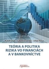 Teória a politika rizika vo financiách a v bankovníctve