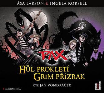 Pax - Hůl prokletí & Grim přízrak - CDmp3 (Čte Jan Vondráček)