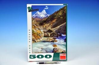 Puzzle Himaláje 500dílků 33x47cm v krabici